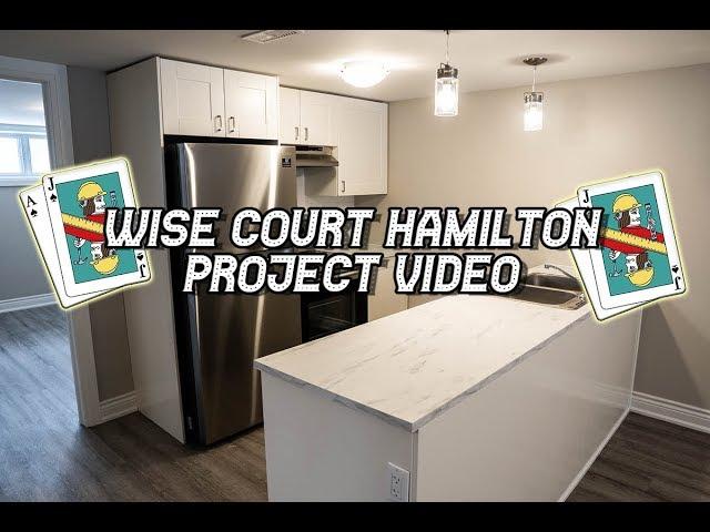 Wise Crt Hamilton- Basement Unit Project Vid