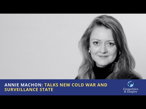 Annie Machon: Talks New Cold War and Surveillance State