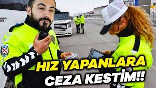 TRAFİKTE HIZ YAPANLARA CEZA KESTİM POLİS SİMULATOR (Bölüm 2)  Barış Can