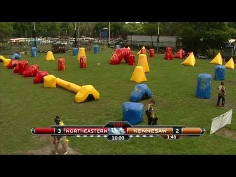 2015 National Collegiate Paintball Association Championships- Kennesaw vs. Northeastern