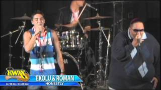 "18th Annual KWXX Ho`oLaule`a - `Ekolu & Roman ""Honestly"""