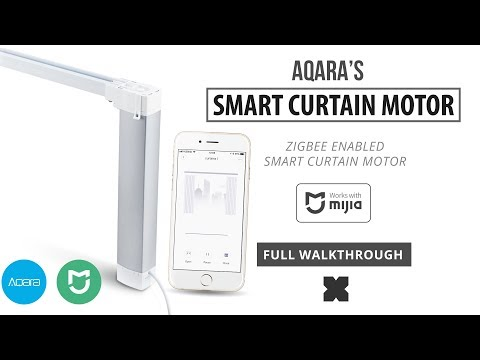 Aqara Smart Curtain Motor (Full Walkthrough) Zigbee)