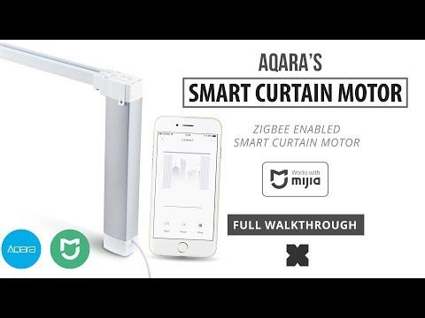 Aqara Smart Curtain Motor (Full Walkthrough) Zigbee)