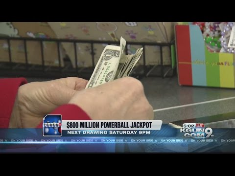 $800 Million: Powerball jackpot just keeps growing