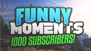 1000 Subscribers Special!-Funniest Moments Compilation(GTA SA,Hitman And More!)