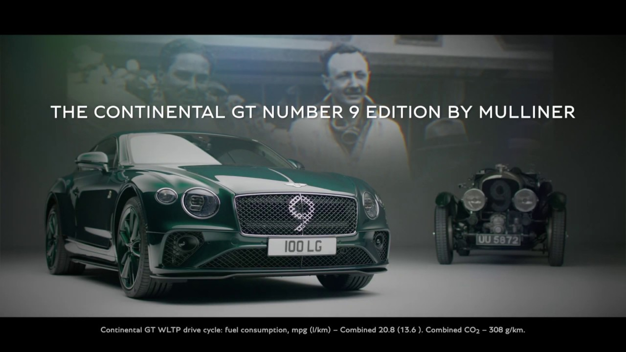 Continental GT Number 9 Edition by Mulliner | Bentley