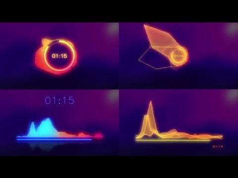FREE AFTER EFFECTS TEMPLATE | Music Visualizer l Audio spectrum