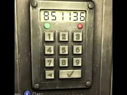Silent Hill Downpour: Library Keypad