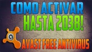 Como activar avast free antivirus hasta 2038