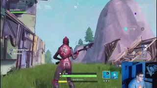 Fortnite gameplay with Deman448