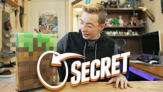 I found a SECRET on the Minecraft XBOX!! (Limited Edition)