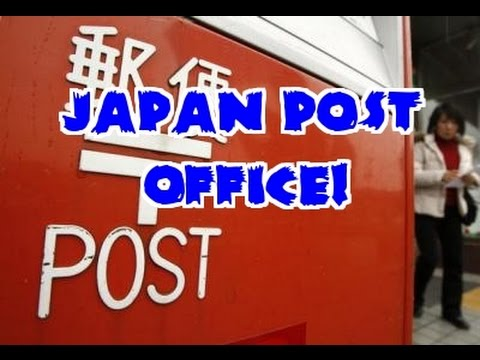 Going to a JAPANESE POST OFFICE!