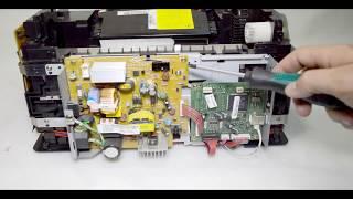 Сборка принтера xerox phaser 3117.Эксперемент над блоком лазера.
