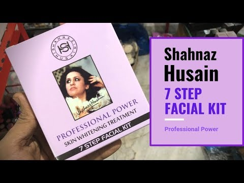 Shahnaz Husain 7 Step Facial Kit Review