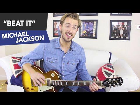 Michael Jackson - Beat It - Guitar Lesson Tutorial