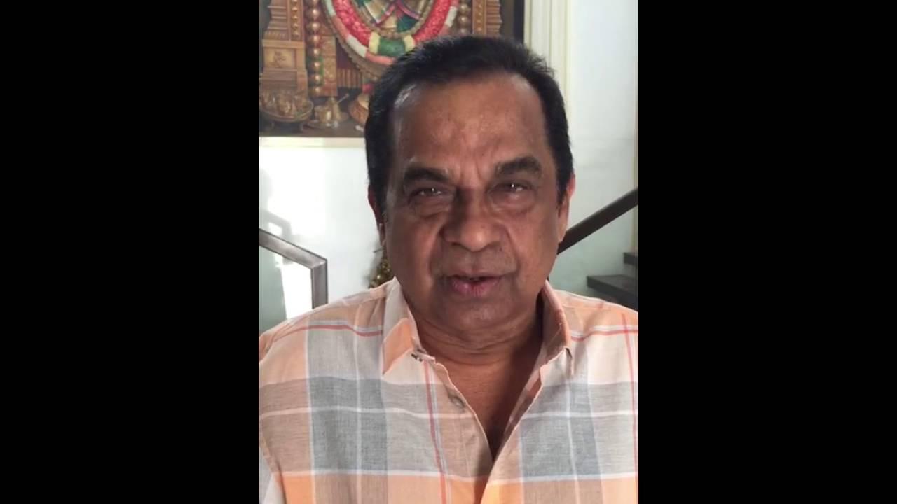 Brahmanandam garu about TCA 40th anniversary 1