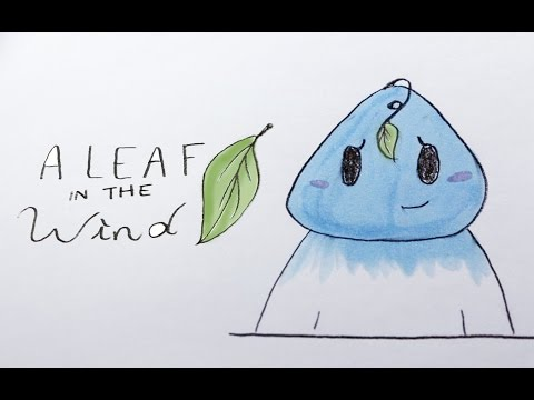 Iat 110 Final Project Hand Drawn Stop Motion Animation Leaf Blowing In The Wind Youtube