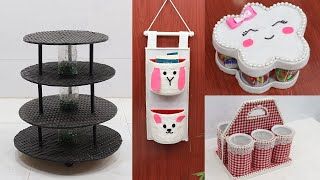 Best Out Of Waste Material for Space Organizer Ideas | Recycling Ideas
