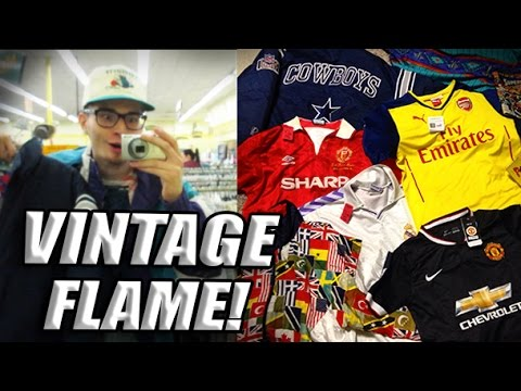 Trip to the Thrift  73 Huge Soccer Jersey and Vintage Jacket Haul! - YouTube 454ad7543