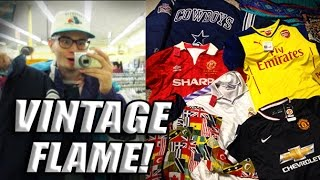 Trip to the Thrift 73 Huge Soccer Jersey and Vintage Jacket Haul!