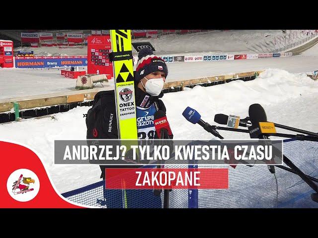 Andrzej? To tylko kwestia czasu! | PŚ w skokach narciarskich w Zakopanem 2021