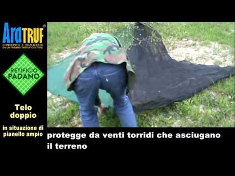 Rete ombreggiante per Tartufaie : www.padano.it