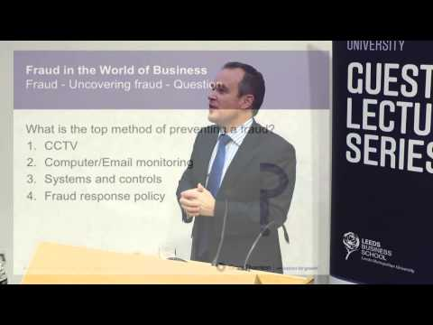Leeds Business School, guest lecture series - Chris Clements
