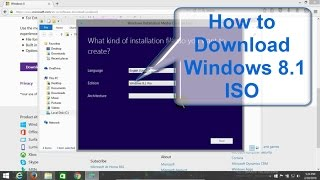 How to download Windows 8.1 Free directly from Microsoft -  Legal Full Version ISO - Easy to Get!