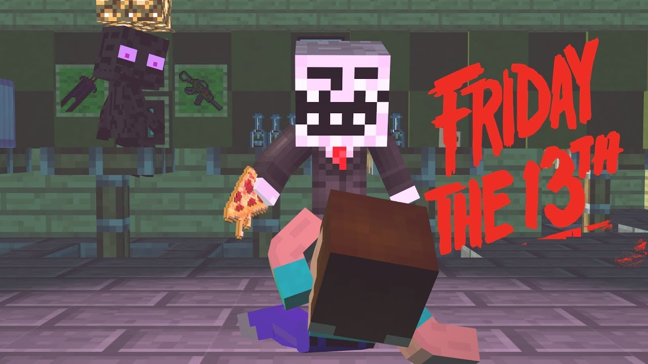 Friday  the 13th - Minecraft Animation | Noob & Brothers Series