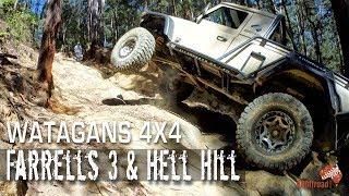 Watagans 4x4| DIFFICULT | Farrells 3 |  Hell Hill | ALLOFFROAD #128