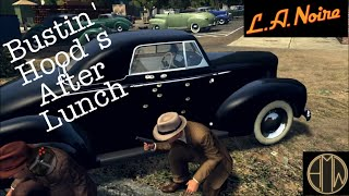 L.A. Noire - Free Roam - Bustin' Hood's After Lunch