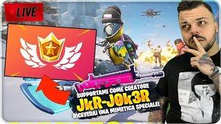 🔴 DEVASTIAMO SU XBOX ONE - CODICE CREATORE: JkR-J0k3R (Pass Stagione 8 GRATIS ) LIVE FORTNITE