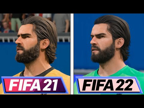 Прямое графическое сравнение FIFA 21 и FIFA 22 – велика ли разница