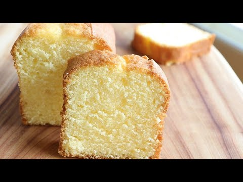 How to make delicious lemon pound cake/simplest&easiest pound cake