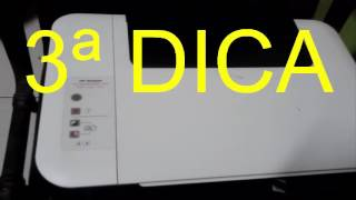 3 modos como resetar uma impressora HP deskjet 1516 2050 1015 (ORIGINAL)