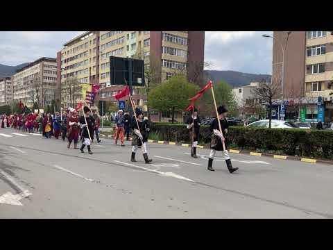Sărbătoarea Curţii Domneşti-Parada medievală (Piatra Neamţ, 20 aprilie 2019)