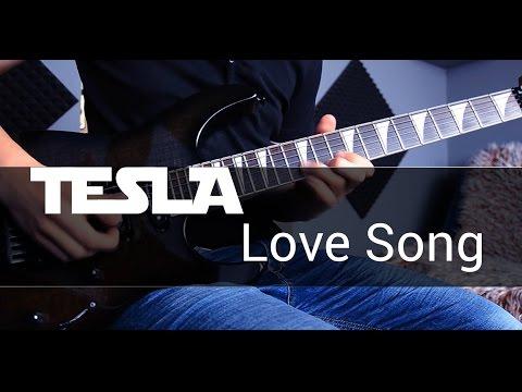 Tesla - Love Song Solo Guitar Cover