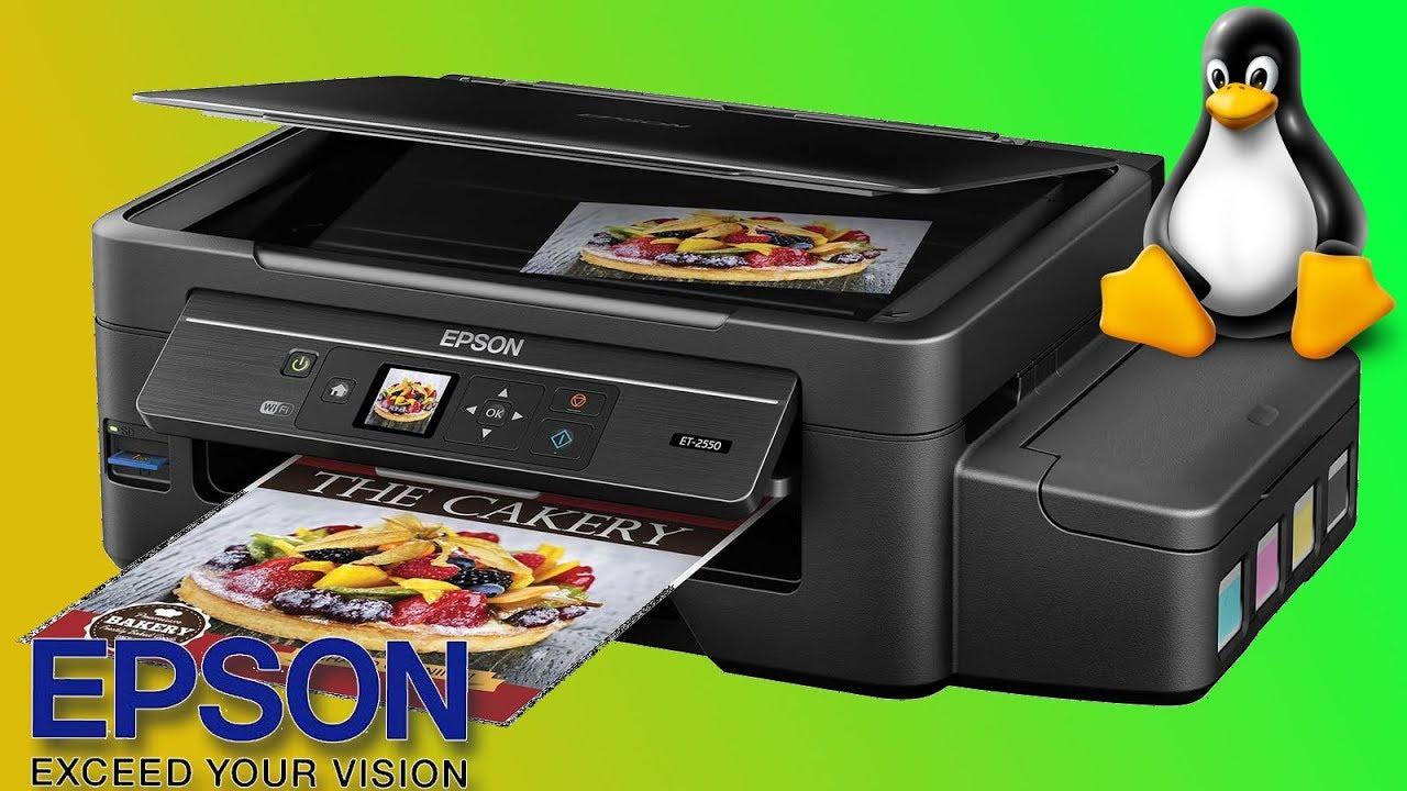 Instalando os drivers oficias das impressoras Epson no Linux scanner