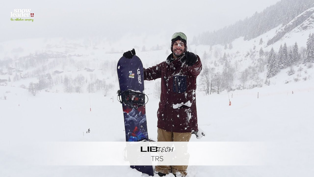 Libtech   TRS 2018 - Snowboard - Snowleader.com - YouTube 66f49160a9cc