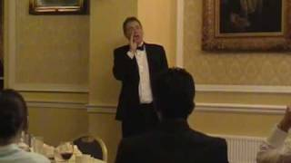 After Dinner Speaker John Bell Gives After Dinner Speech