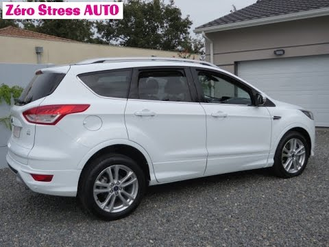 ford kuga platinium 2014 2 0 tdci 140 2wd jantes 18 pouces zero stress auto palau bordeaux youtube. Black Bedroom Furniture Sets. Home Design Ideas