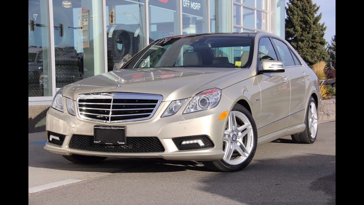 2011 Mercedes Benz E350 BlueTec For Sale @ Mercedes Benz ...