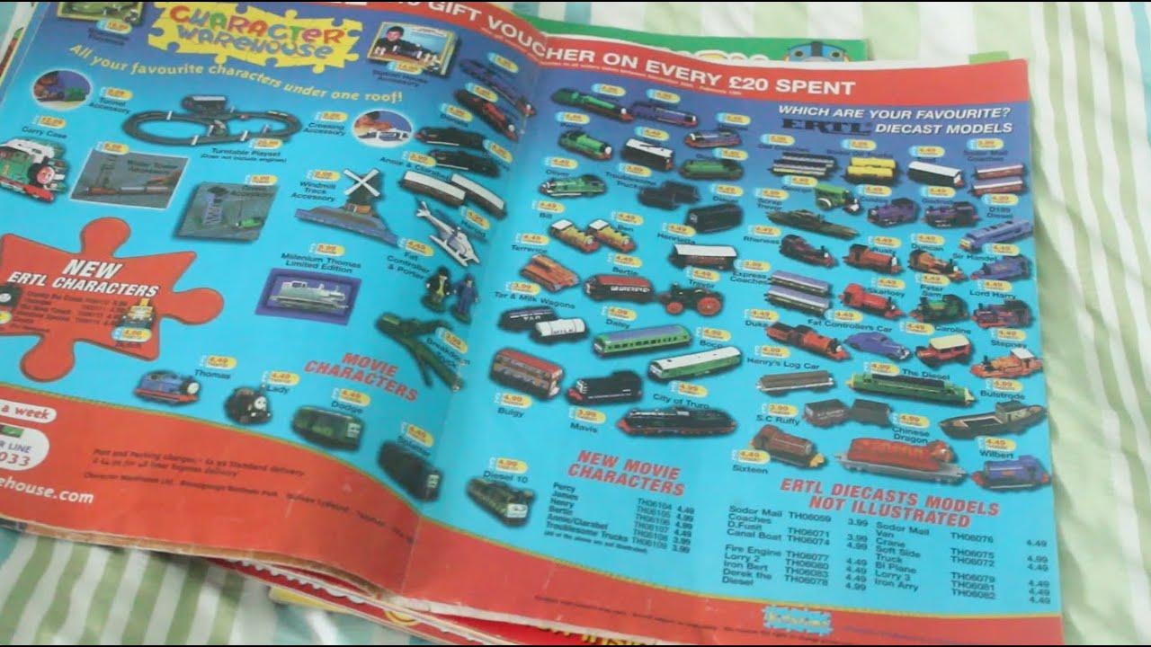 Hd Thomas The Tank Engine Ertl Magazine Advertisements