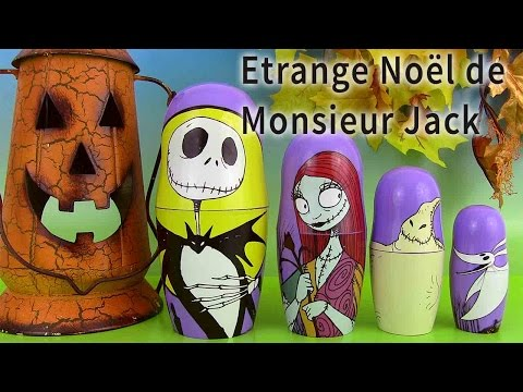 Poupées Russes Surprise Halloween 2015 Nesting Dolls Etrange Noël de Mr Jack Skellington image