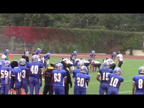 NYC PSAL Football 2016 Game 4 Information Technology Blackhawks v William Cullen Bryant Owls
