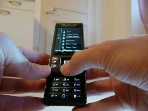 Test Sony Ericsson C905