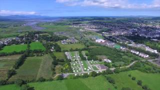 Woodlands Caravan & Camping Park Tralee aerial drone video