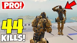 PLAYING WITH A PRO PLAYER \u0026 THIS HAPPENED IN CALL OF DUTY MOBILE BATTLE ROYALE!