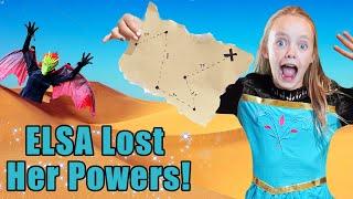 Elsa Lost Her Frozen Powers! Kids Fun TV!