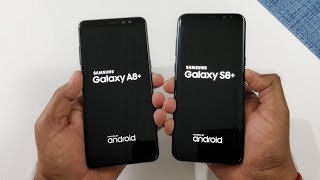 Samsung Galaxy A8+ (2018) vs Samsung S8+ Speed Test Comparison !